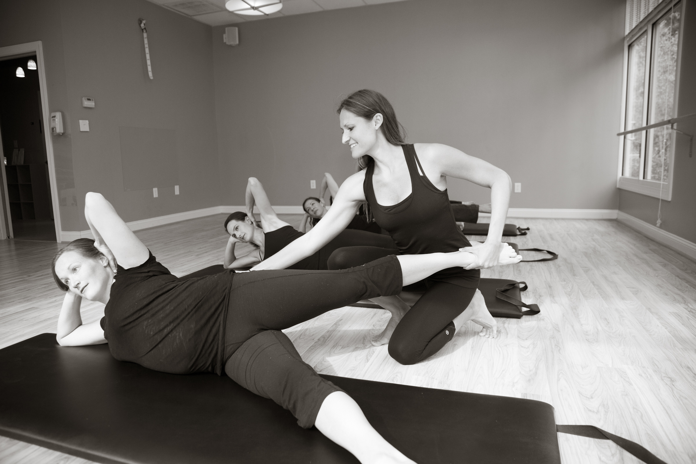 Image result for pilates side kick series